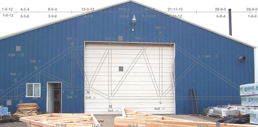 Quality Engineered Wood Roof Trusses In North Central Idaho